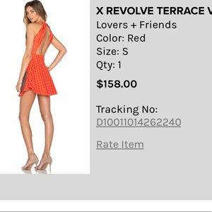 Lovers Friends X revolve terrace view dress